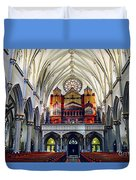 Inside The Cathedral  Duvet Cover