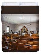 Inside The Church Duvet Cover