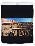 Inside The Colosseum Duvet Cover