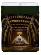 Inside The Lincoln Memorial Duvet Cover