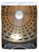 Inside The Pantheon - Rome - Italy Duvet Cover