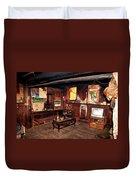 Inside Tibetan House Duvet Cover