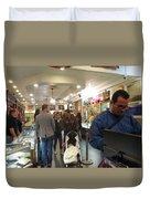 Inside World Famous Pawn Shop Duvet Cover