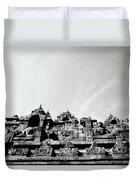 Inspiration At Borobudur Duvet Cover