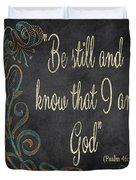 Inspirational Chalkboard-b Duvet Cover