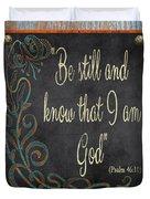 Inspirational Chalkboard-b2 Duvet Cover