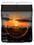 Inspirational--summer Day On A Winters Night Duvet Cover