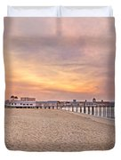 Inspirational Theater Old Orchard Beach  Duvet Cover