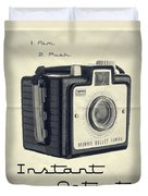Instant Artist Duvet Cover by Edward Fielding