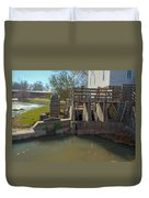 Intake At The Mill Duvet Cover