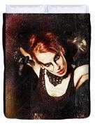 Intense Dancer Duvet Cover