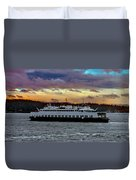 Inter-island Ferry Duvet Cover