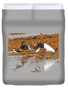 Inter-species Meeting Place Duvet Cover