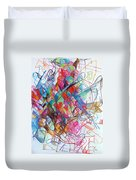 Interchange Between Ambition And Restraint 2 Duvet Cover by David Baruch Wolk