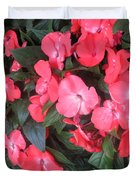 Interior Decorations Butterfly Garden Flowers Romantic At Las Vegas Duvet Cover