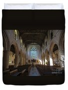 Interior Of St Mary's Church In Rye Duvet Cover