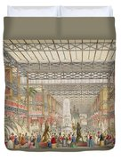 Interior Of The Crystal Palace, Pub Duvet Cover