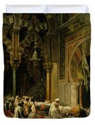 Interior Of The Mosque At Cordoba Duvet Cover