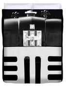International Grille Emblem Duvet Cover