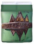 International Harvester Insignia Duvet Cover