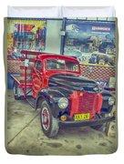 International Vintage Truck Duvet Cover