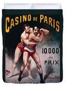 International Wrestling Championship Duvet Cover
