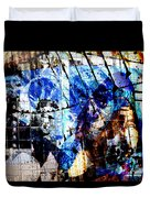 Interstate 10- Exit 257a- St Marys Rd / 6th St Underpass- Rectangle Remix Duvet Cover