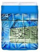 Interstate 10- Exit 258- Broadway Blvd / Congress St Underpass- Rectangle Remix Duvet Cover