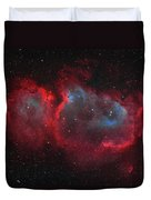 Interstellar Embryo  Ic 1848, The  Soul Duvet Cover
