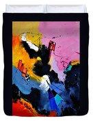 Interstellar Graffiti Duvet Cover