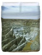 Inti Raymi Gold Mine Quarry In Oruro Duvet Cover