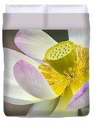 Intimate Sacred Lotus Bloom Duvet Cover