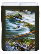 Intimate With River Duvet Cover