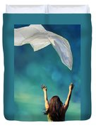 Into The Atmosphere Duvet Cover