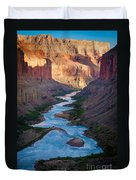 Into The Canyon Duvet Cover