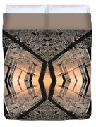 Into The Core Duvet Cover