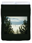 Into The Day Duvet Cover