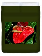 Into The Heart Duvet Cover