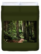 Into The Magical Forest Duvet Cover