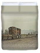 Into The Mojave Duvet Cover