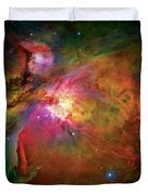 Into The Orion Nebula Duvet Cover by Jennifer Rondinelli Reilly - Fine Art Photography