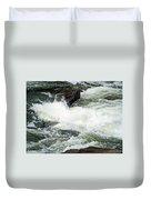 Into The Rapids Duvet Cover