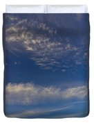 Into The Sky Duvet Cover