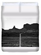 Into The Valley Of Monuments Duvet Cover