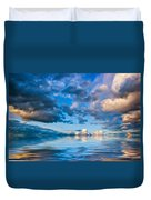 Into The Wild Blue Yonder Duvet Cover