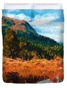 Into The Woods Duvet Cover by Ayse Deniz