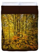 Into The Woods We Go  Duvet Cover