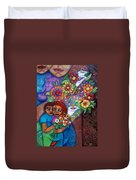 Invention Of Love Closer Duvet Cover