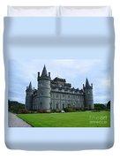 Inveraray Castle In Argyll Duvet Cover