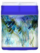 Inverted Light Abstraction Duvet Cover